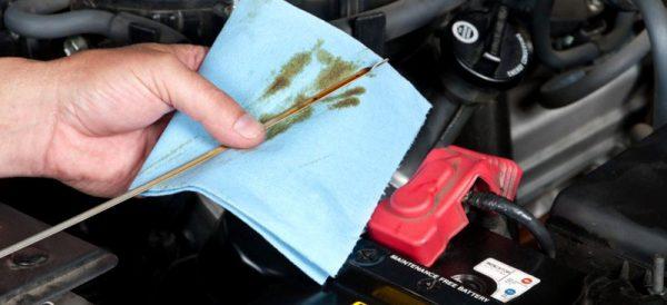 Проверка на маслото в скоростната кутия